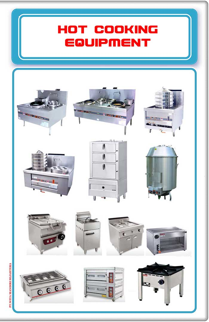 Hot-cooking-equipment