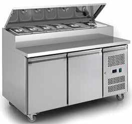 Sandwich Counter Chiller 2 Door