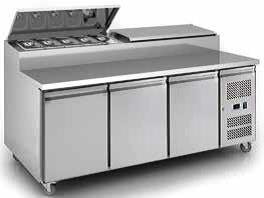 Sandwich Counter Chiller 3 Door