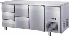 Undercounter Chiller 1 Door & 2 Drawer+3 Drawer