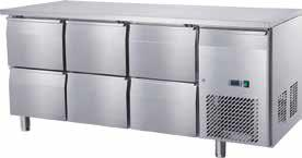 Undercounter Chiller 6 Drawer